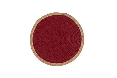 SIRENA Tablett 38 Rund Röd