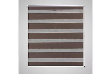 HIBIKI Rullgardin 100x175 Randig Brun/Transparent