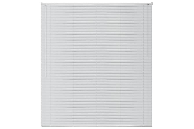 Persienner aluminium 120x160 cm vit - Vit - Möbler & Inredning - Inredning - Persienner
