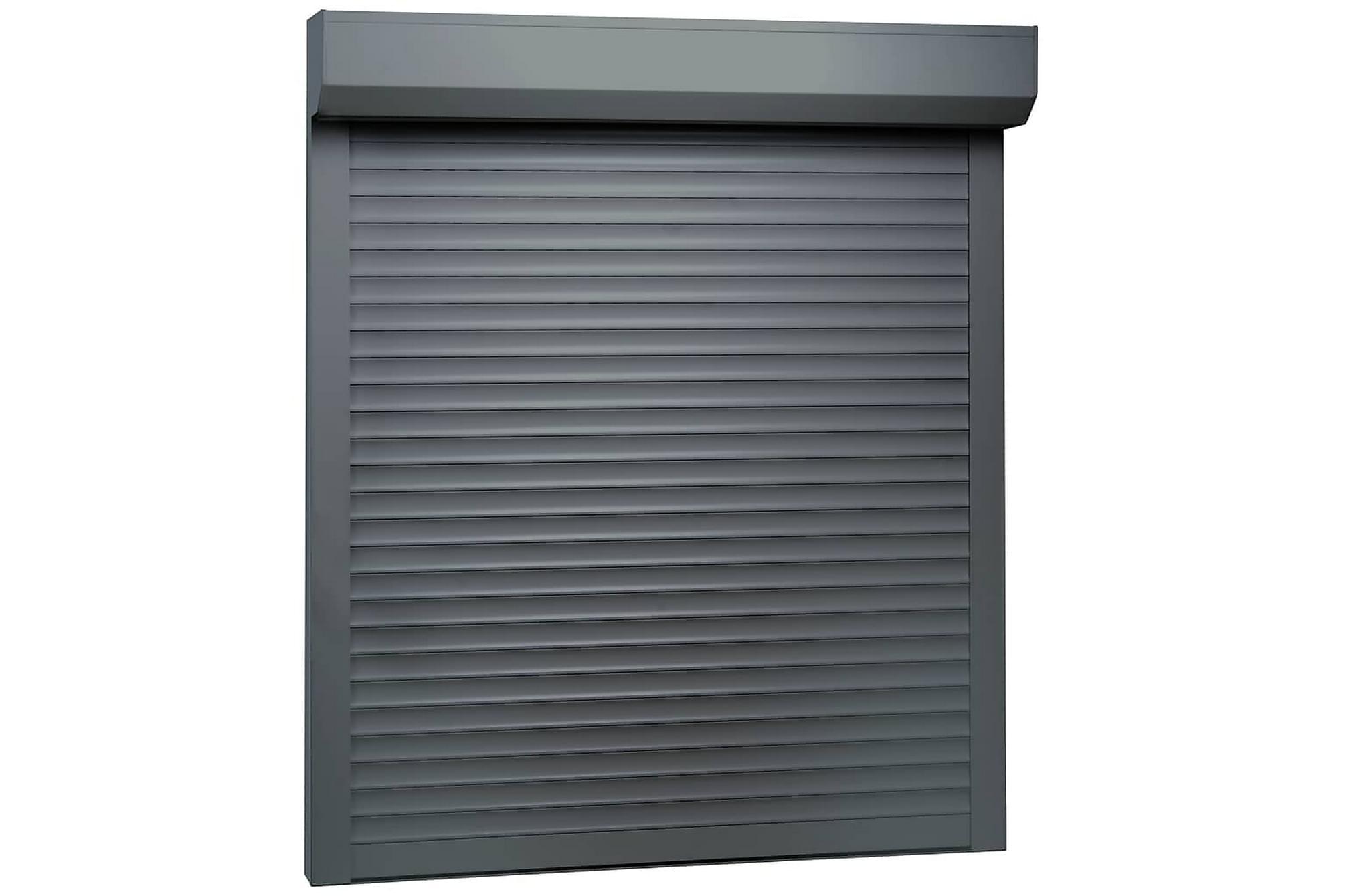 Rulljalusi aluminium 100×120 cm antracit