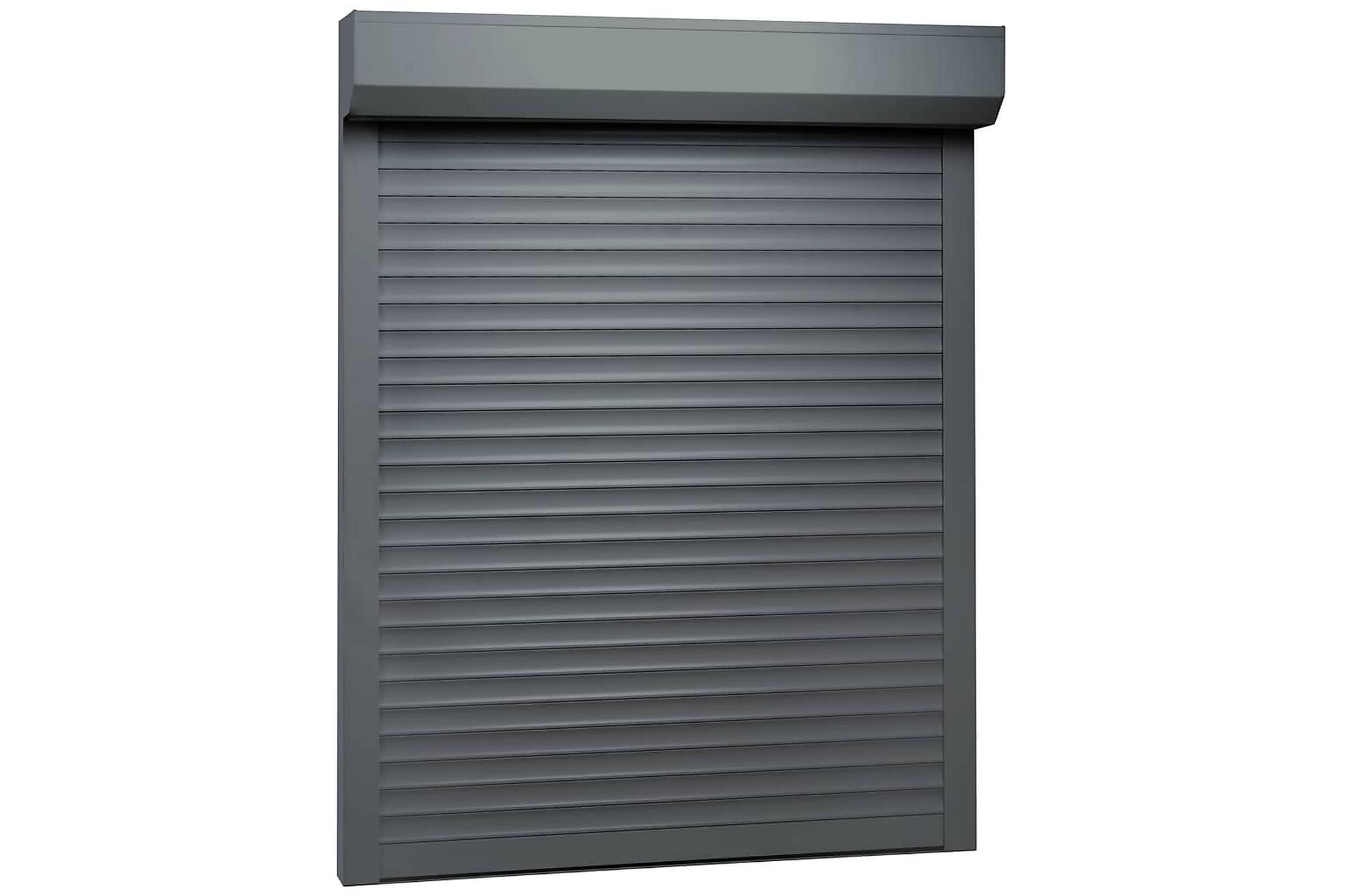 Rulljalusi aluminium 120×150 cm antracit