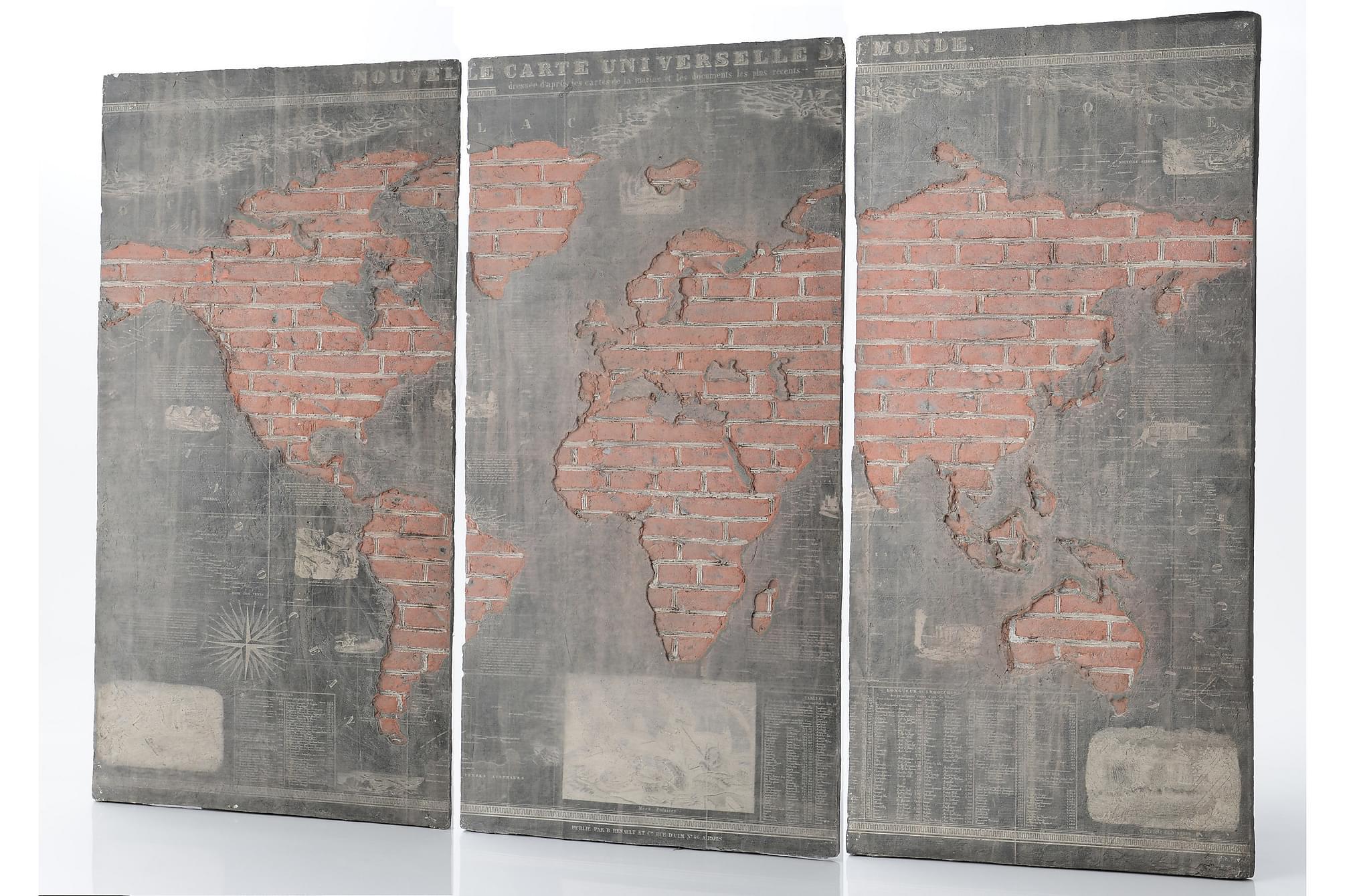 BARBAZA Övriga tavlor 300x201 cm Flerfärgad, Posters & tavlor