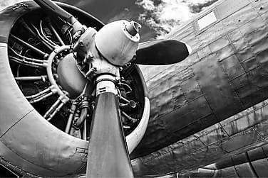 CANVAS Tavla Airplane