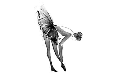 CANVAS Tavla Ballerina