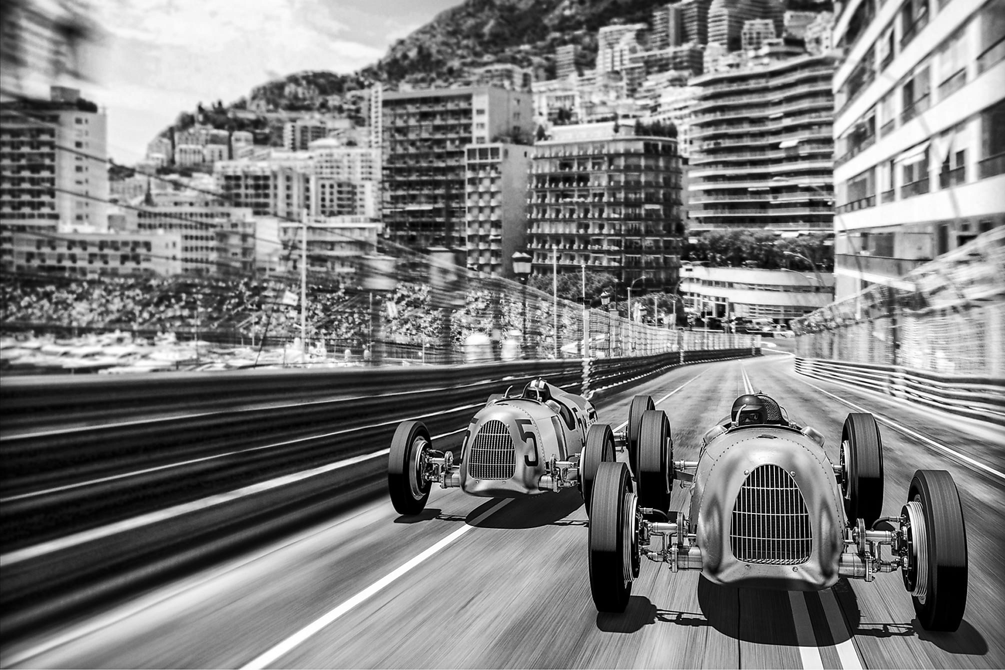 CANVAS Tavla Monte Carlo 80x120 cm, Posters & tavlor