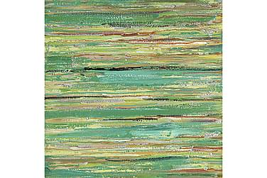 CANVASTAVLA Art Grön 100x100