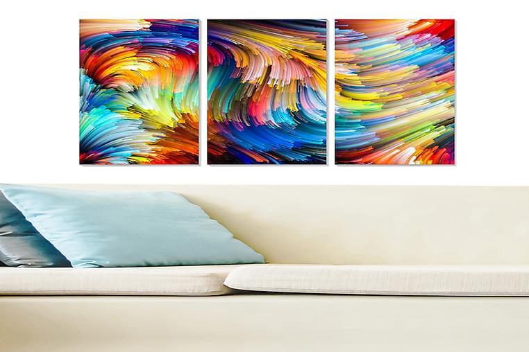 CANVASTAVLA Colorful 3-pack Flerfärgad 20x50 cm - Möbler & Inredning - Inredning - Posters & tavlor