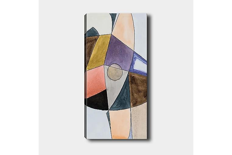 CANVASTAVLA DKY Abstract & Fractals Flerfärgad 50x120 cm - Möbler & Inredning - Inredning - Posters & tavlor