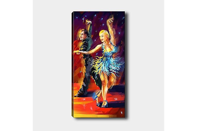 CANVASTAVLA DKY People Flerfärgad 50x120 cm - Möbler & Inredning - Inredning - Posters & tavlor