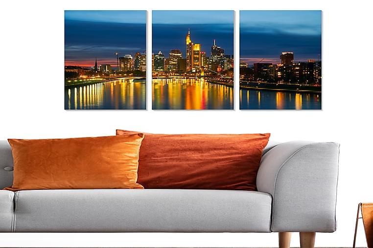 CANVASTAVLA Scenic 3-pack Flerfärgad 20x50 cm - Möbler & Inredning - Inredning - Posters & tavlor