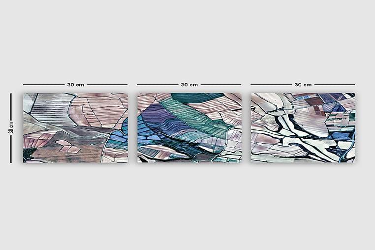 CANVASTAVLA VP Spain 3-pack Flerfärgad 30x30 cm - Möbler & Inredning - Inredning - Posters & tavlor