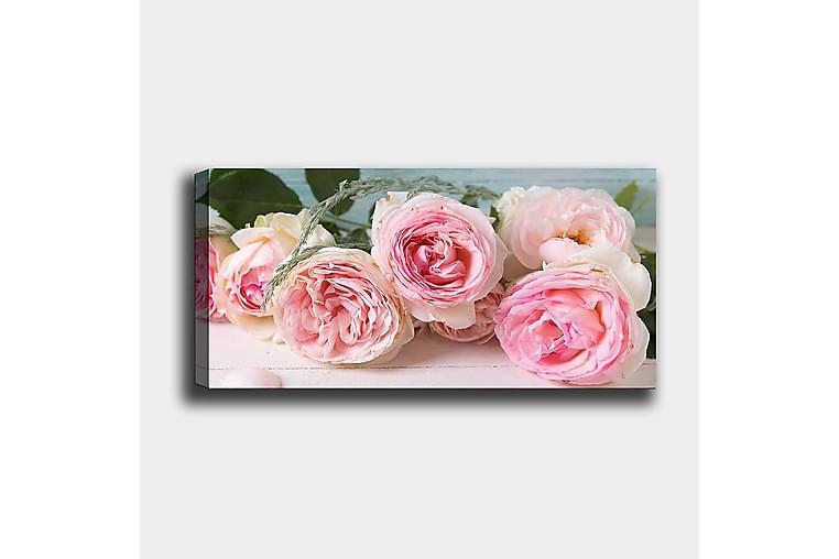 CANVASTAVLA YTY Floral & Botanical Flerfärgad 120x50 cm - Möbler & Inredning - Inredning - Posters & tavlor