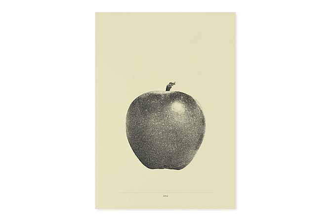 CAUL Kort Apple Gul - Inomhus - Inredning - Posters & tavlor