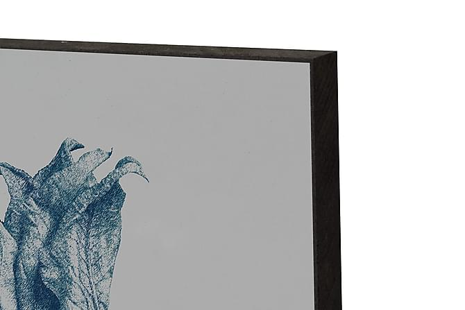 CAUL Tavla Zuchini Flower Blå - Inomhus - Inredning - Posters & tavlor