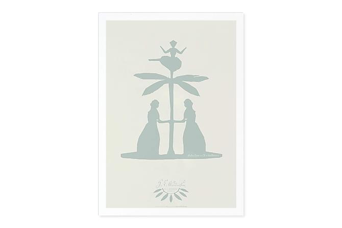 CERRATO Kort Palmtree + Ballerina - Inomhus - Inredning - Posters & tavlor