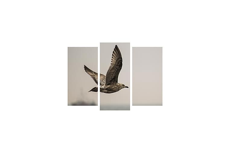 DEKORATIV Canvasmålning 3 Delar - Möbler & Inredning - Inredning - Posters & tavlor