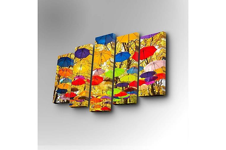 DEKORATIV Canvasmålning 5 Delar - Möbler & Inredning - Inredning - Posters & tavlor