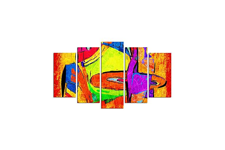 DEKORATIV MDF-målning 5 Delar - Möbler & Inredning - Inredning - Posters & tavlor