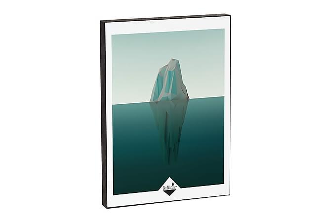 GEOMANIAC Tavla Low Poly Iceberg 9 - Möbler & Inredning - Inredning - Posters & tavlor