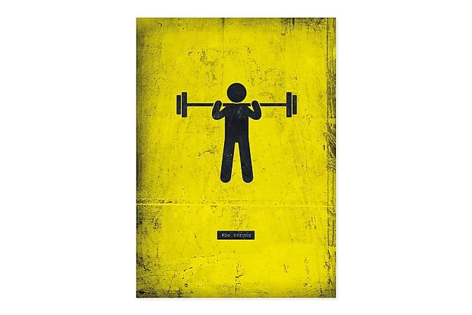 ROBARGE Kort Weight lift - Inomhus - Inredning - Posters & tavlor