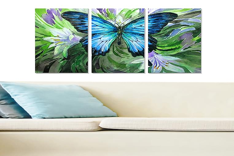 TAVLA Animal 3-pack Flerfärgad 20x50 cm - Möbler & Inredning - Inredning - Posters & tavlor