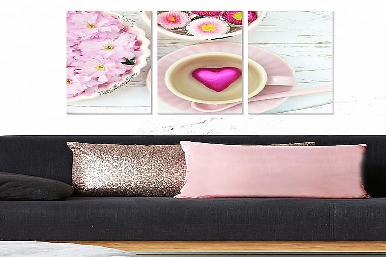 TAVLA Love 3-pack Flerfärgad 20x50 cm - Möbler & Inredning - Inredning - Posters & tavlor
