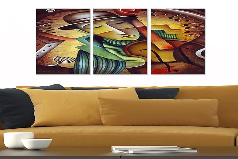 TAVLA Music 3-pack Flerfärgad 20x50 cm - Möbler & Inredning - Inredning - Posters & tavlor