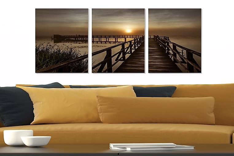 TAVLA Scenic 3-pack Flerfärgad 20x50 cm - Möbler & Inredning - Inredning - Posters & tavlor