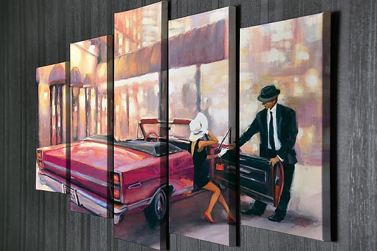 Väggdekor Canvas Målning 5 Delar - Möbler & Inredning - Inredning - Posters & tavlor