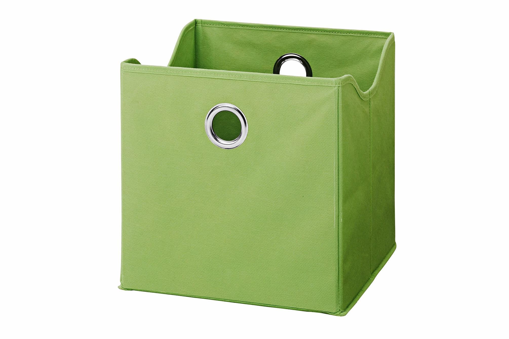 CARACAS Förvaringsbox 9-pack Grön, Småförvaring