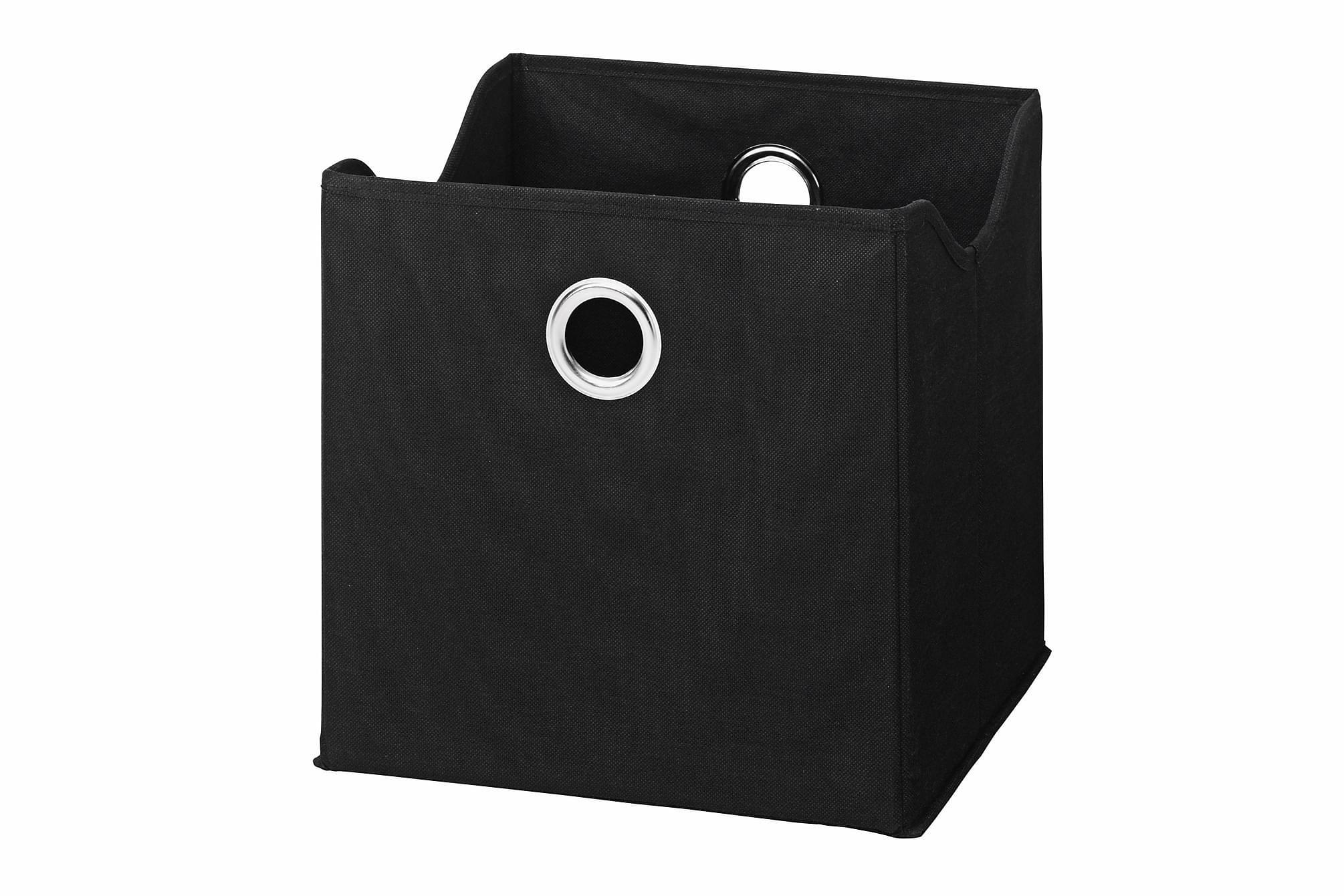 CARACAS Förvaringsbox 9-pack Svart, Småförvaring