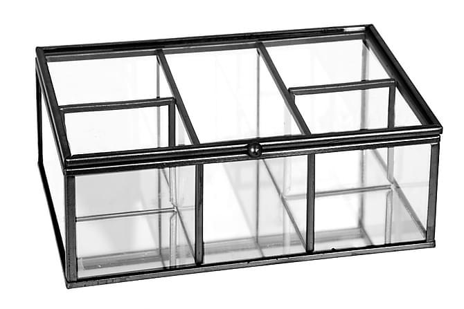 LEVIER Låda 5 Fack Metall/Glas - Möbler & Inredning - Inredning - Småförvaring