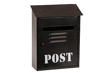 MOITOSO Nyckelskåp Postlåda Svart