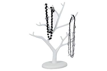 NERIN Smyckeshållare Trä Vit