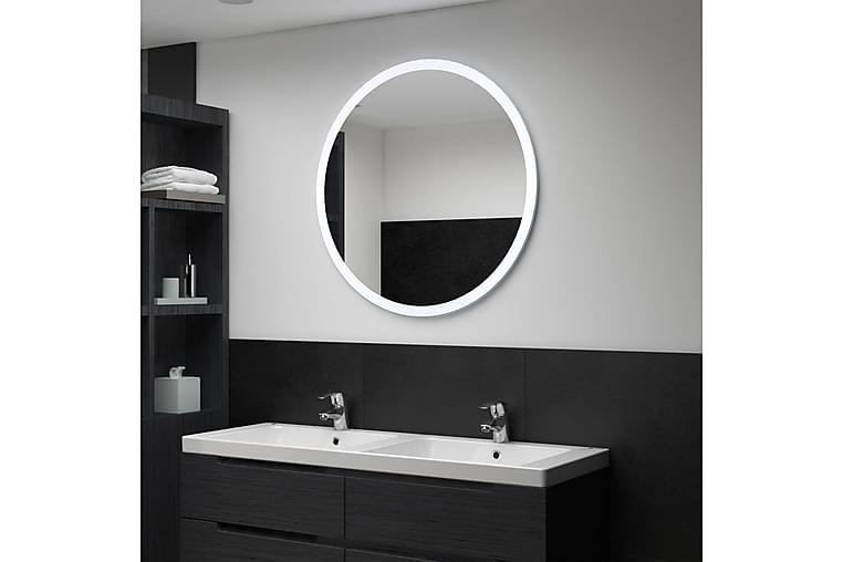 Badrumsspegel LED 80 cm - Silver - Möbler & Inredning - Inredning - Speglar