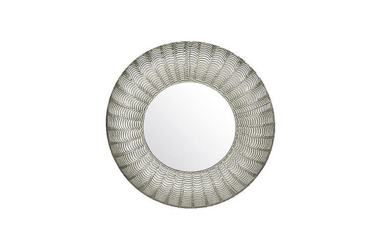 KARSANA Spegel 77 cm Rund Silver - Möbler & Inredning - Inredning - Speglar