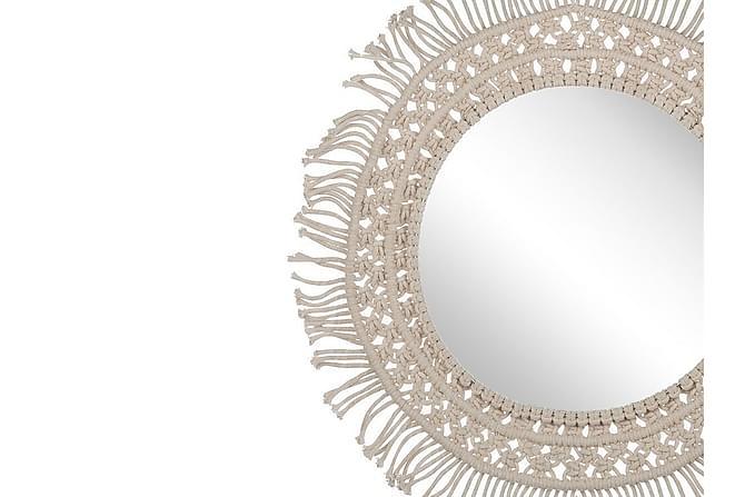 PASZTOR Spegel 53 cm Beige - Möbler & Inredning - Inredning - Speglar