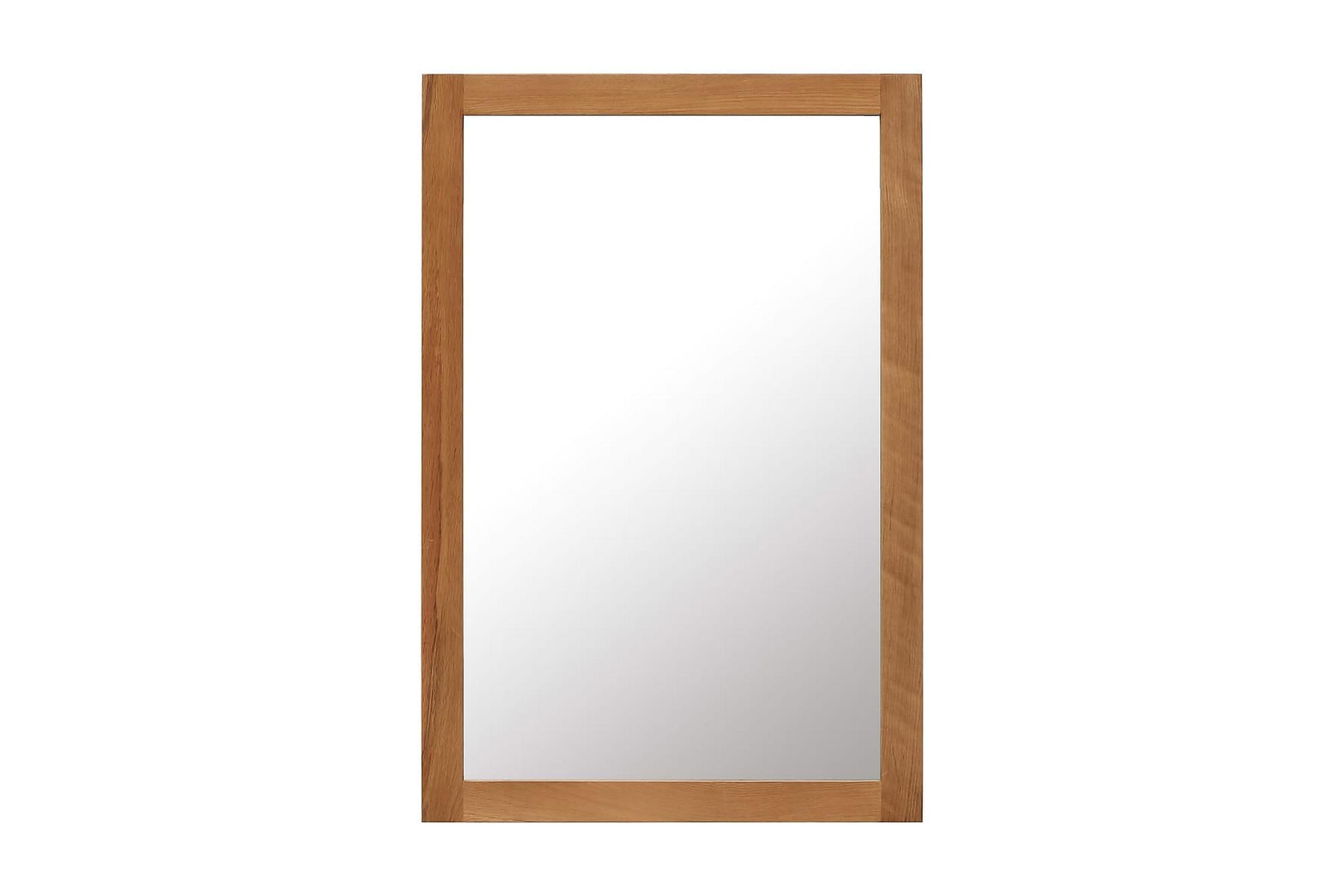 Spegel 60x90 cm massiv ek