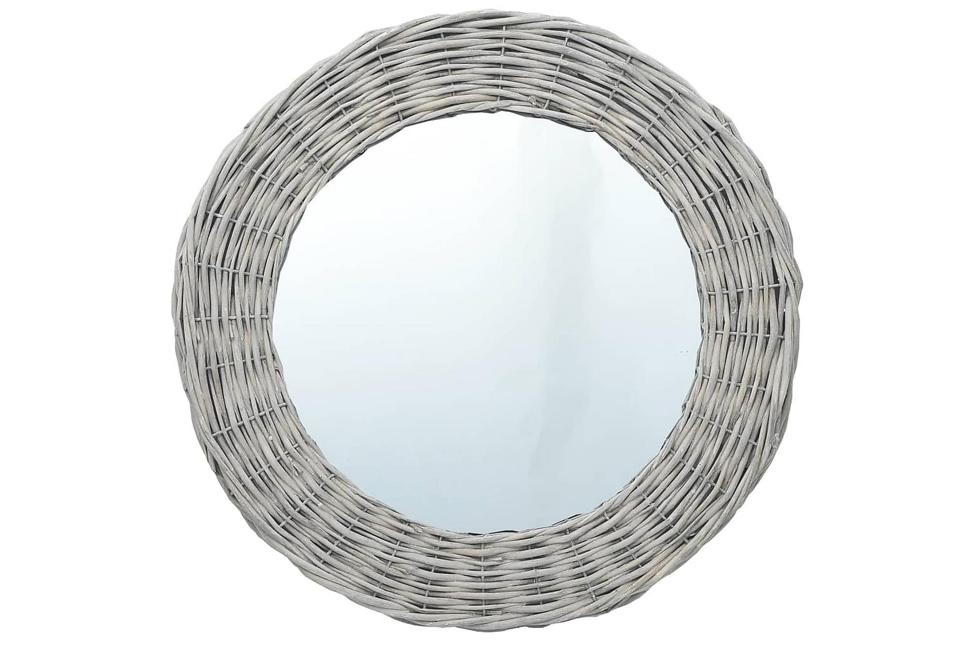 Spegel 80 cm korgmaterial