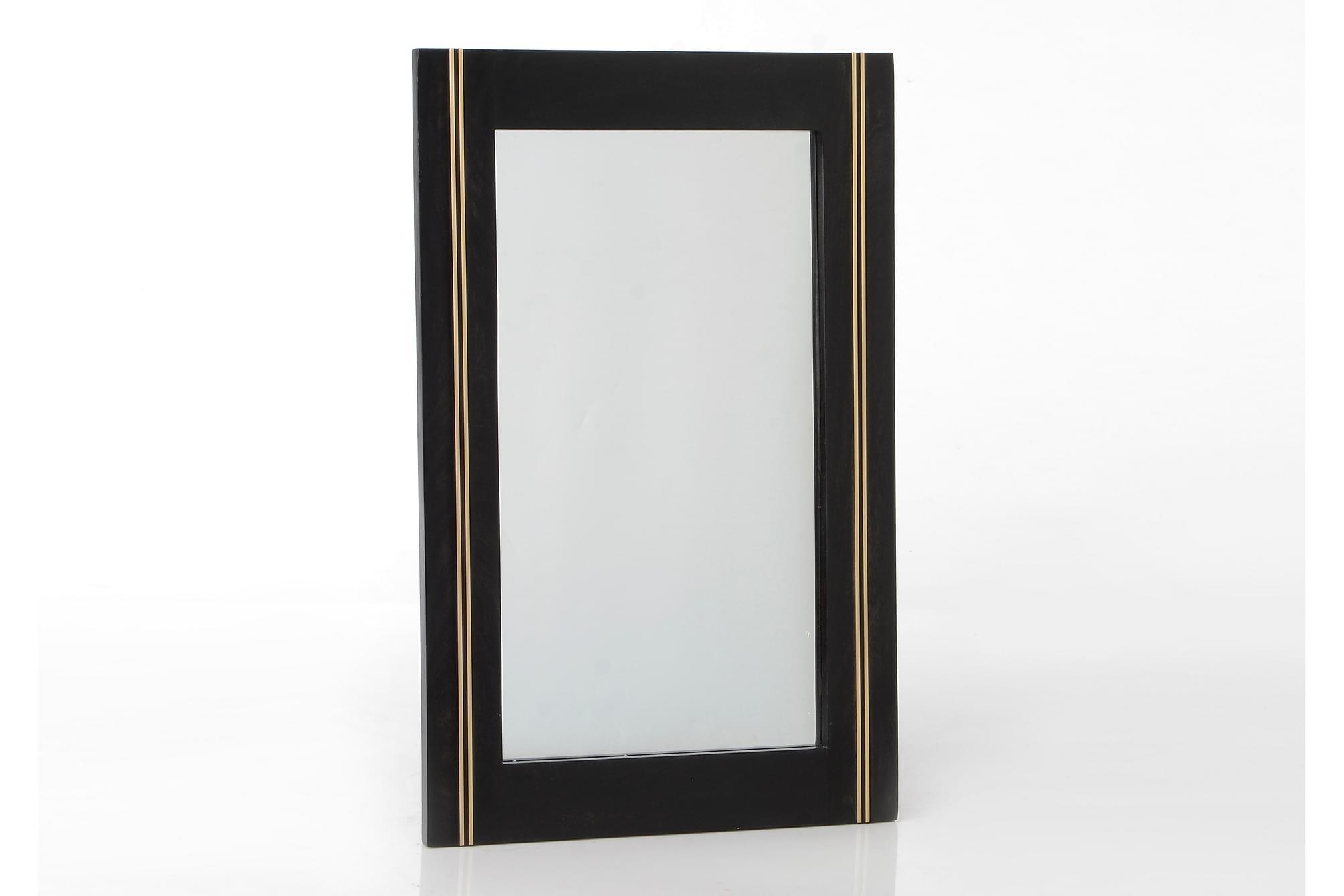 Spegel 80 Svart/Guld