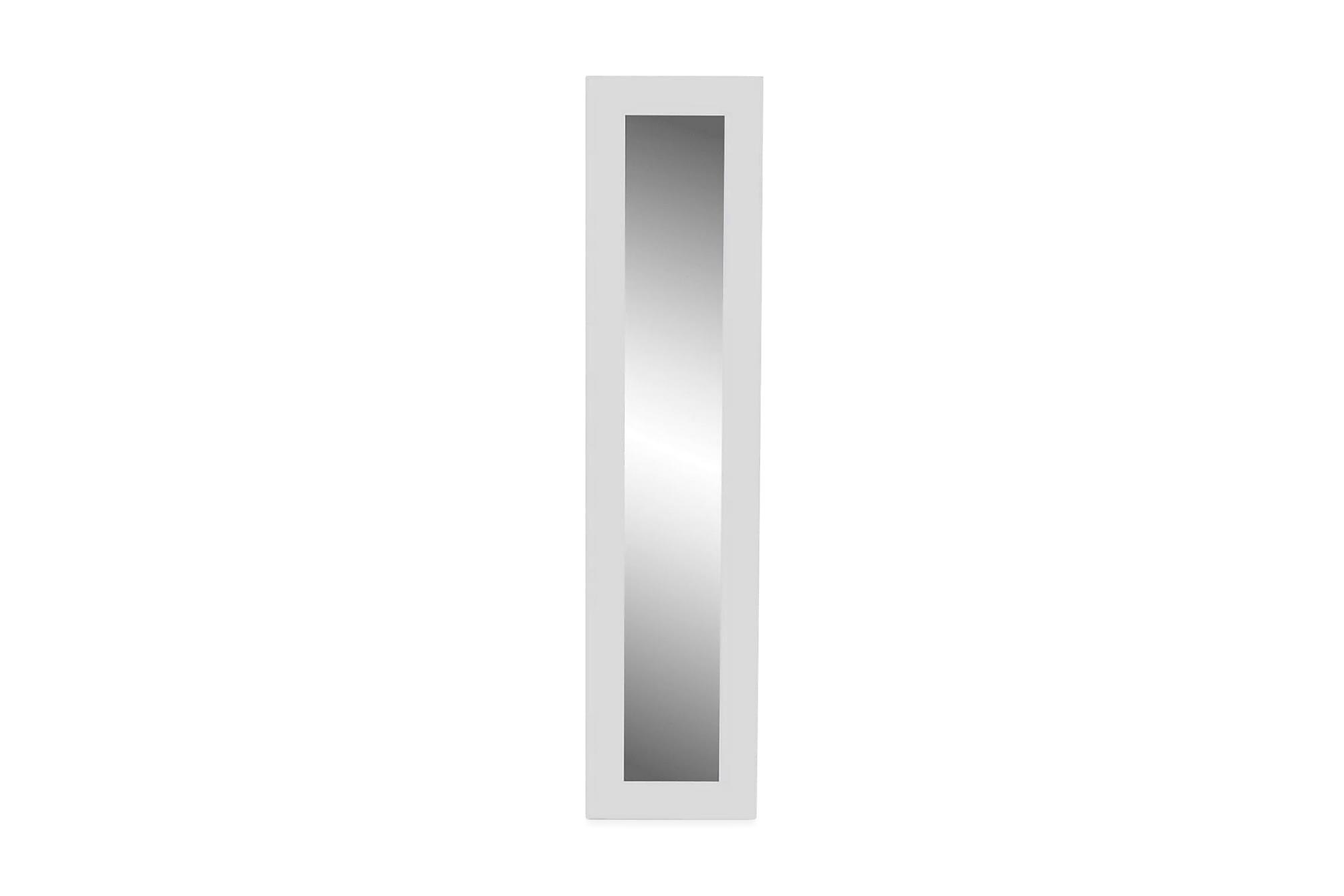 Spegel fristående full längd vit