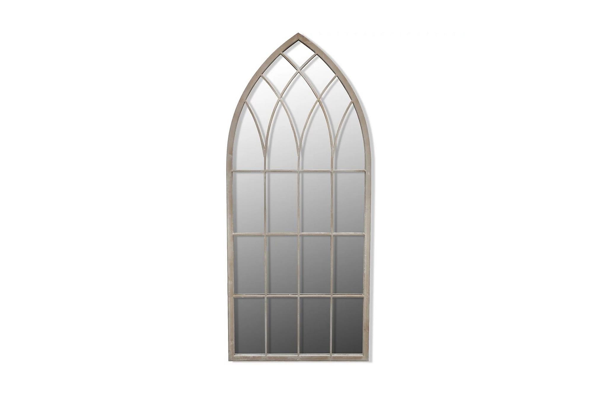Spegel med gotisk design inom-/utomhus 50x115 cm