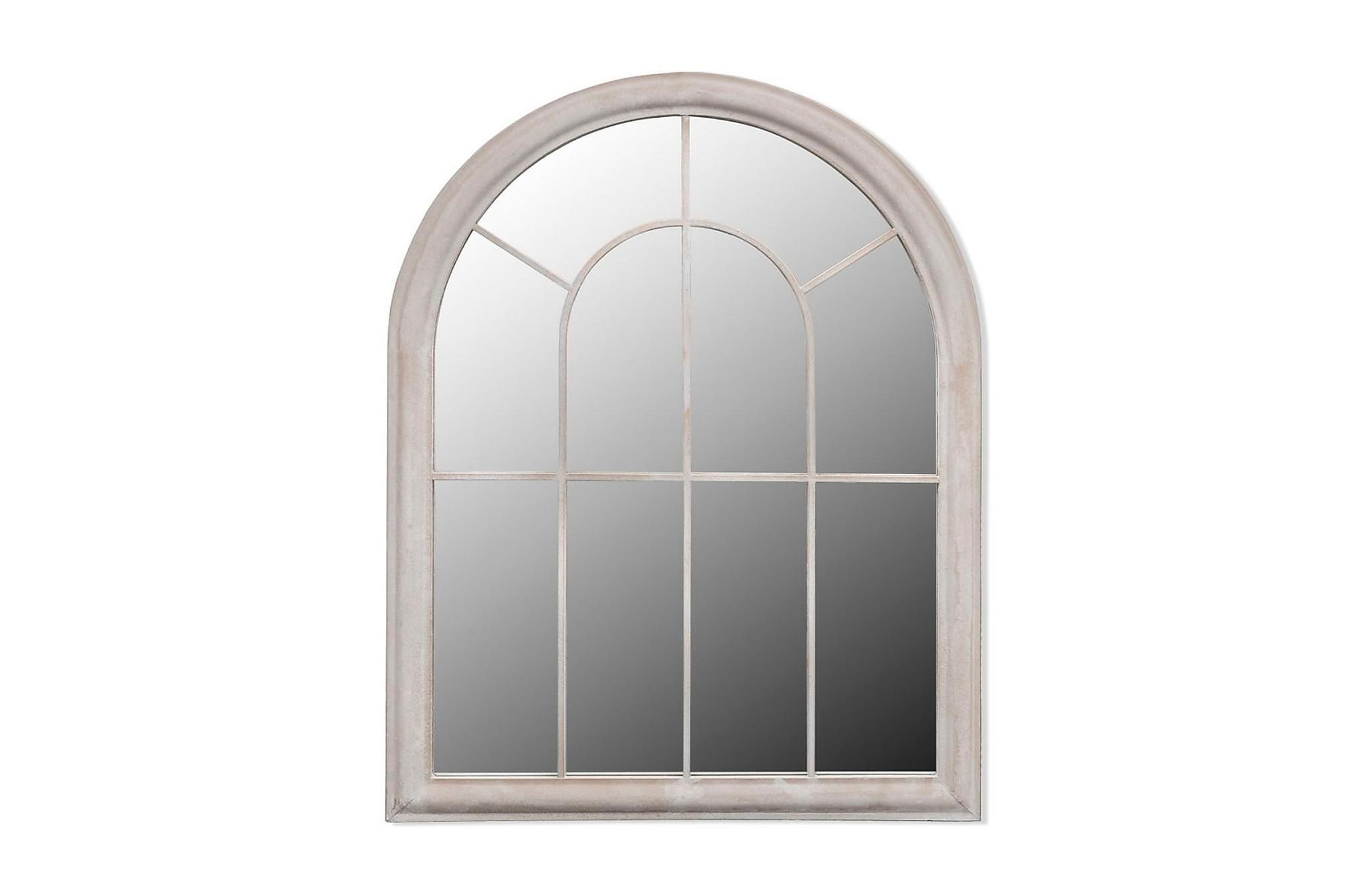 Spegel med lantlig design inom-/utomhus 69x89 cm
