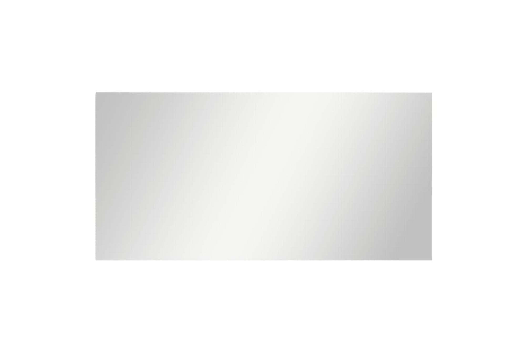 Spegel utan ram 140x60 cm glas