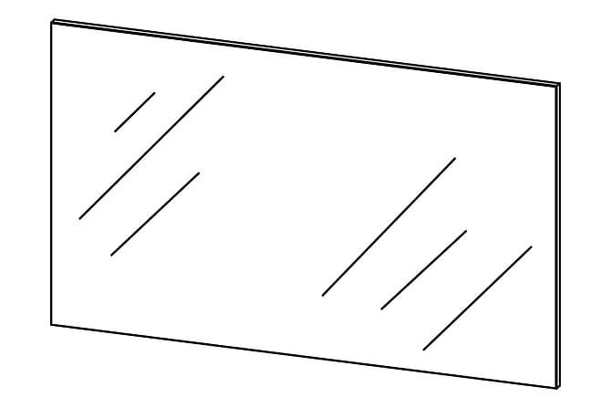 TIPTOP Spegel 98 Ek - Inomhus - Inredning - Speglar