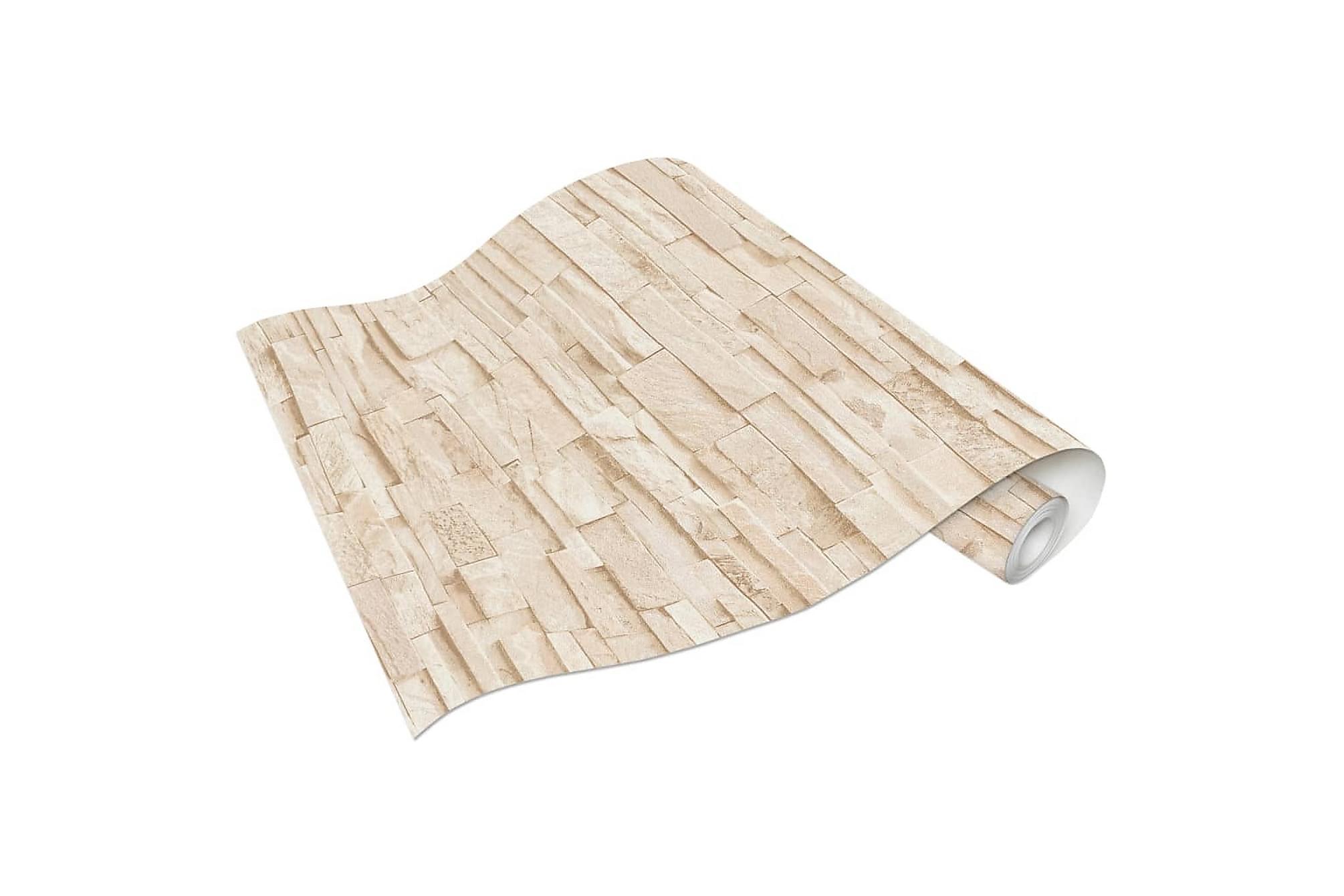 Non-woven tapetrullar 2 st gräddvit 0