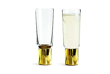 CLUB Champagneglas 2-pack