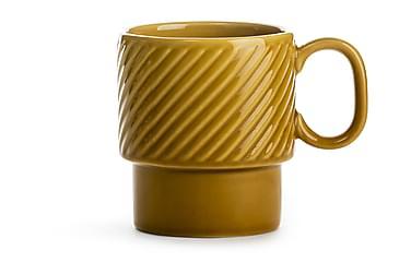 COFFEE & More kaffemugg gul