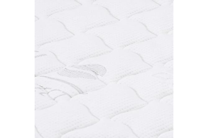 Bäddmadrass 140x200 cm gelskum 7 cm - Vit - Möbler & Inredning - Madrasser - Bäddmadrasser
