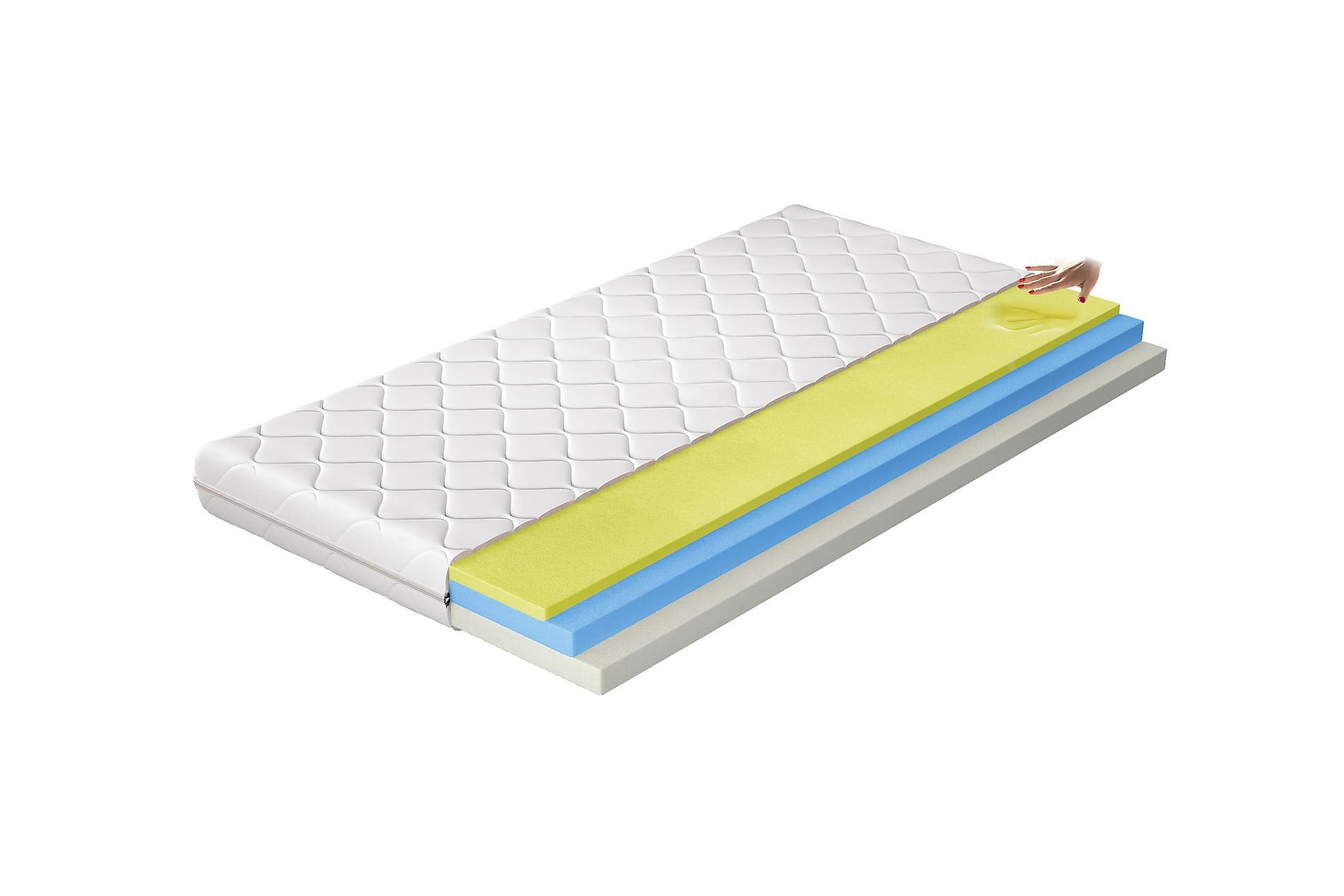 AJANEDO Madrass 180x200 cm Vit, Övriga madrasser & tillbehör